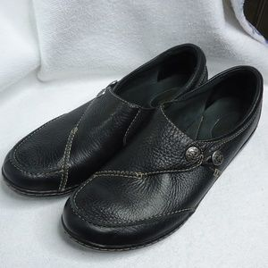Clarks Bendables Ashland Lane Q Black Loafers